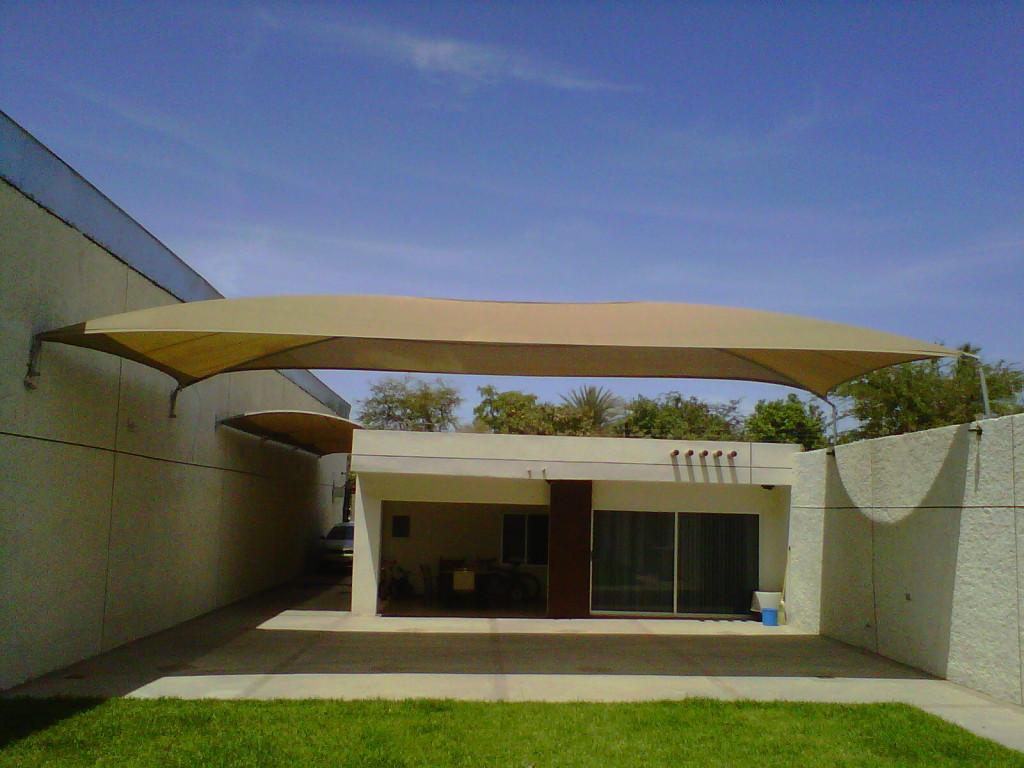 Malla sombra para patios jardines y albercas dm tecnolog as for Murales para patios y jardines